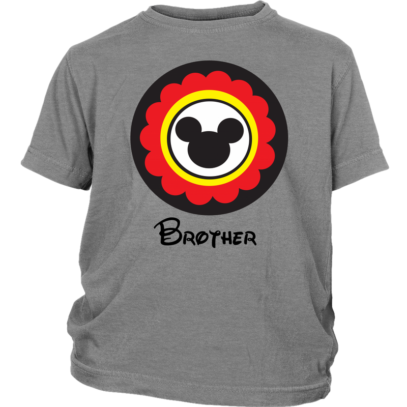 Mickey Mouse Inspired Brother Youth T-Shirt