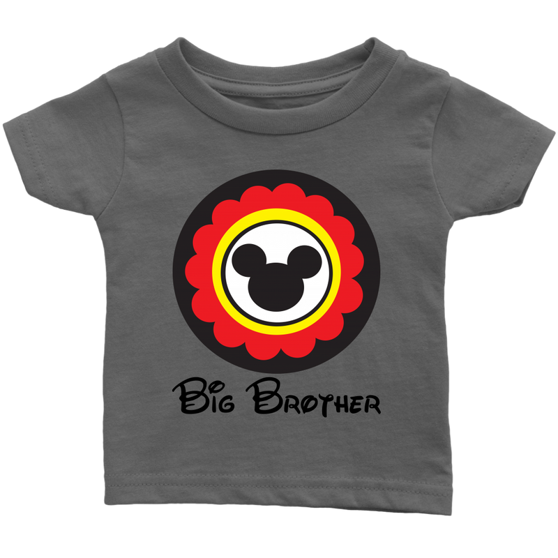 Mickey Mouse Inspired Big Brother Infant T-shirt