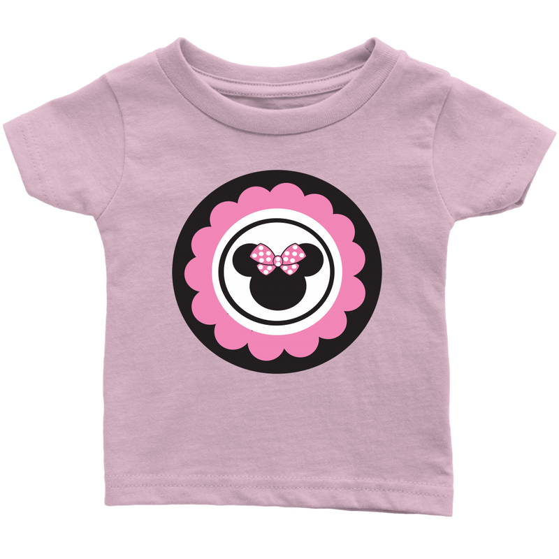 Minnie Mouse Inspired Infant T-Shirt