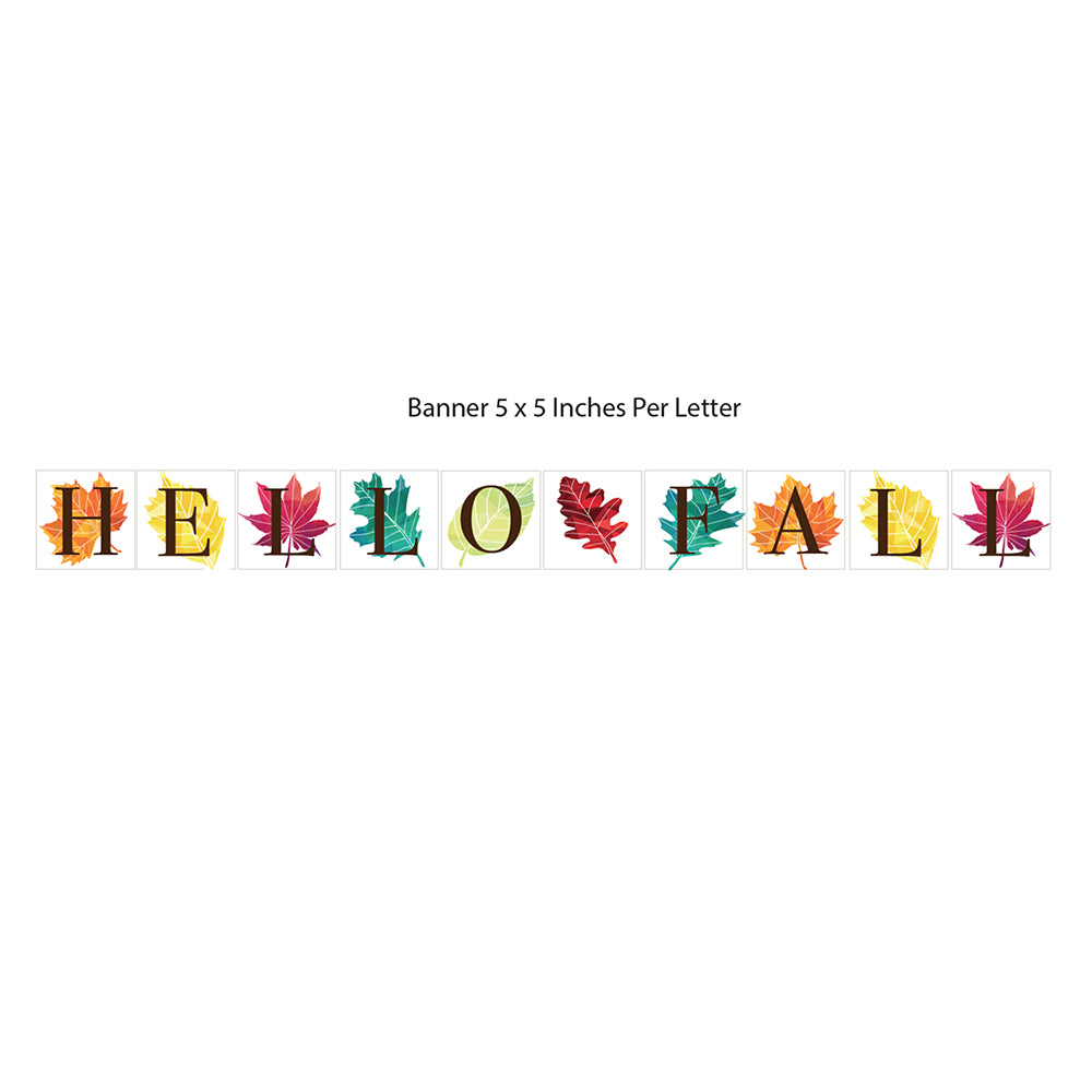 Hello Fall Printable Banner (Digital Download)