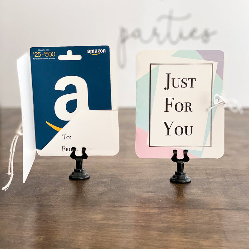Just For You Gift Card Holders (10 Included)