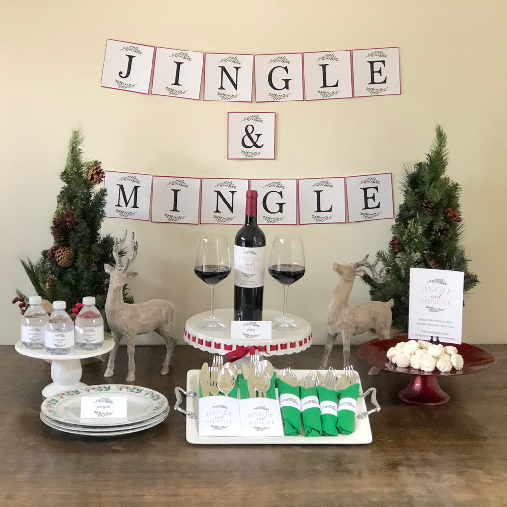 Jingle and Mingle Printable Collection (Digital Download)