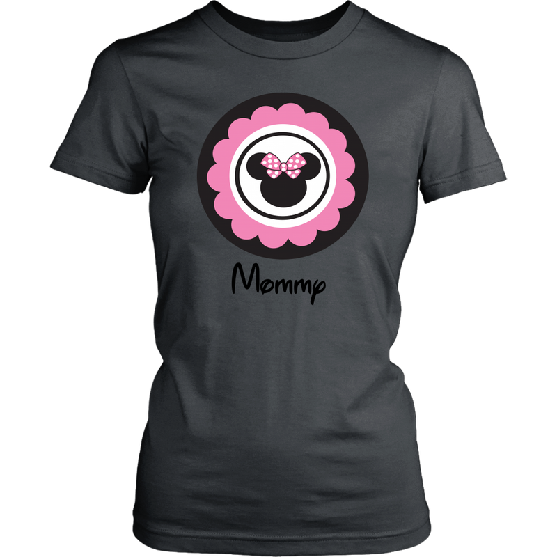 Minnie Mouse Inspired Mommy T-shirt