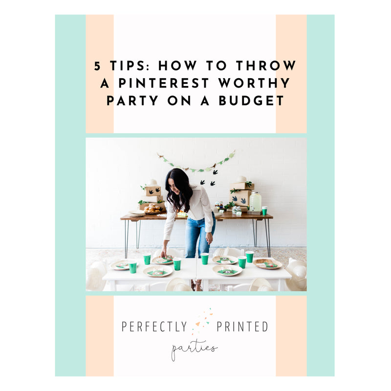 5 Tips on How to Throw a Pinterest Worthy Party