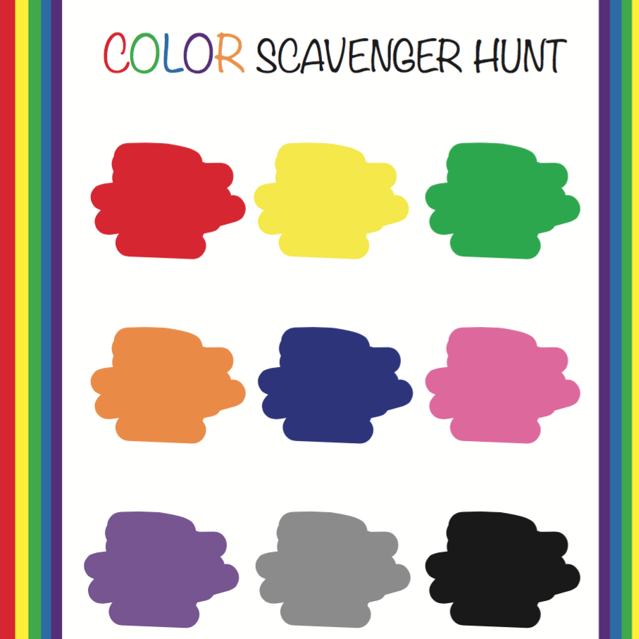 Scavenger Hunt Printable (Digital Download)