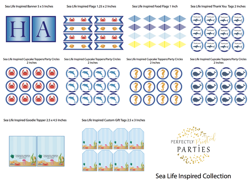 Sea Life Printable Collection (Digital Download)