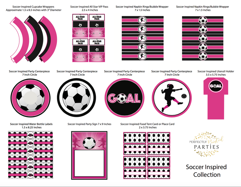 Soccer Printable Collection (Digital Download)