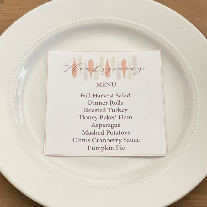 Thanksgiving Thankful Printable Collection (Digital Download)