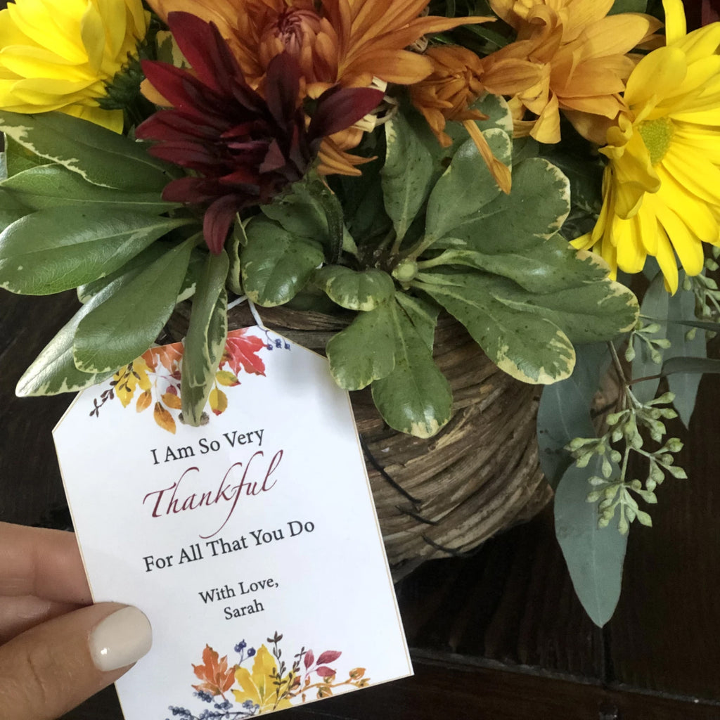 Friendsgiving Printable Card & Tag (Digital Download)