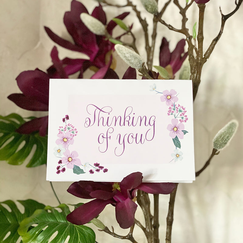 Thinking of You Printable Greeting Card (Digital Download)