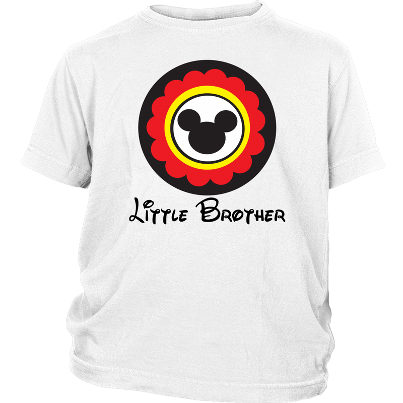 Mickey Mouse Inspired Little Brother Youth T-Shirt