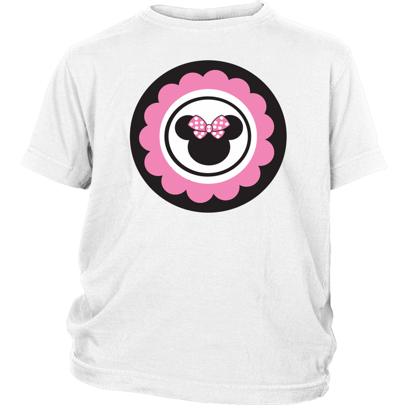 Minnie Mouse Inspired Youth T-Shirt