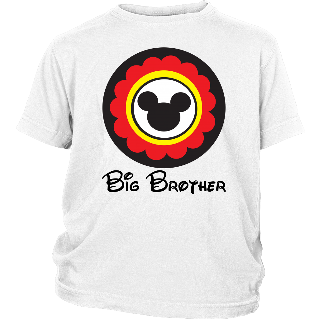 Mickey Mouse Inspired Big Brother Youth T-shirt