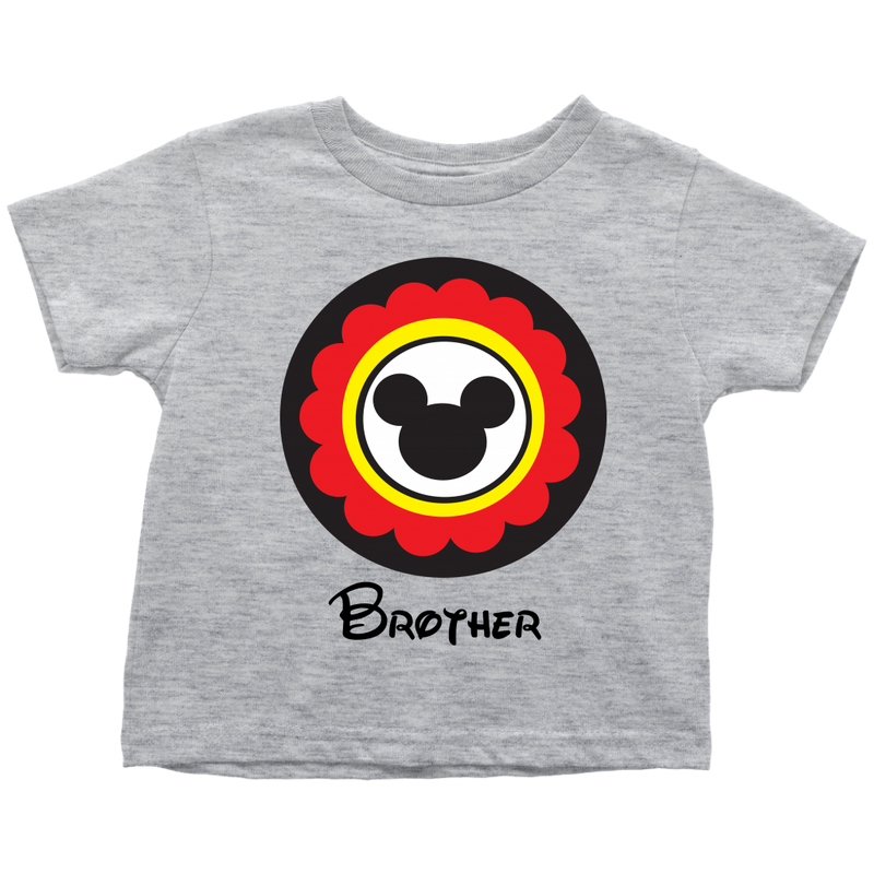 Mickey Mouse Inspired Brother Toddler T-Shirt