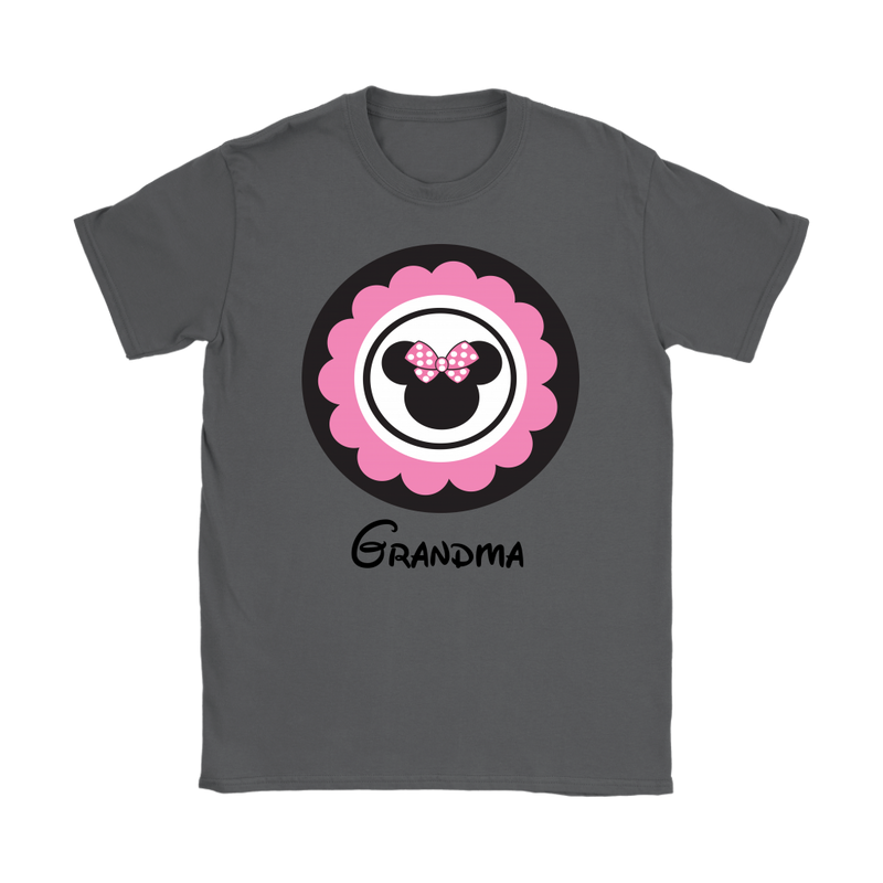 Minnie Mouse Inspired Grandma T-shirt