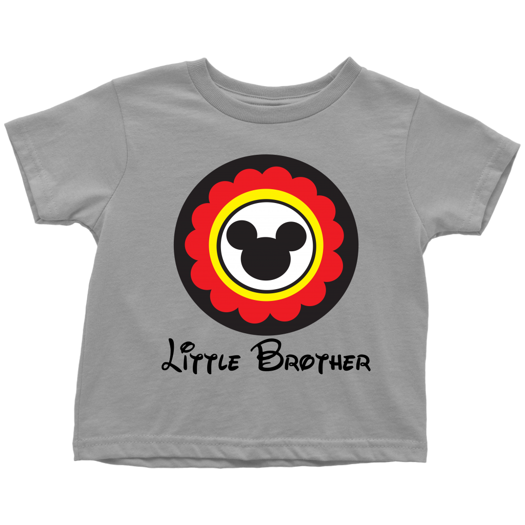 Mickey Mouse Inspired Little Brother Toddler T-Shirt