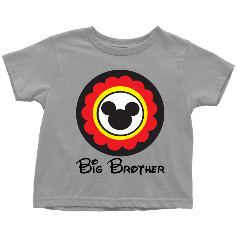 Mickey Mouse Inspired Big Brother Toddler  T-Shirt