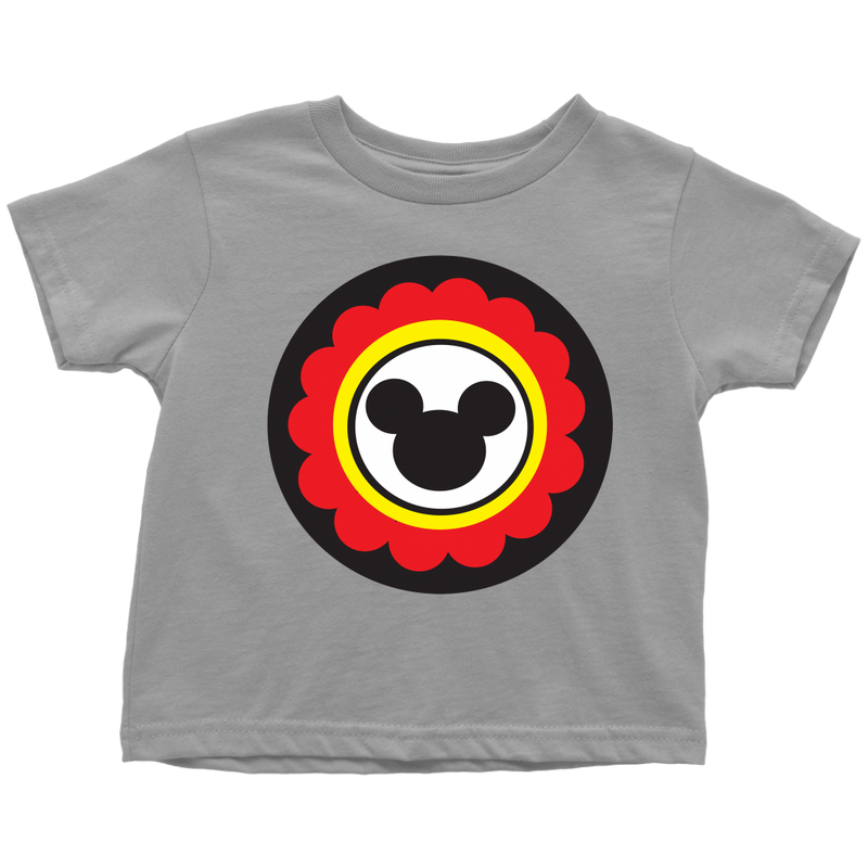 Mickey Mouse Inspired Toddler T-Shirt