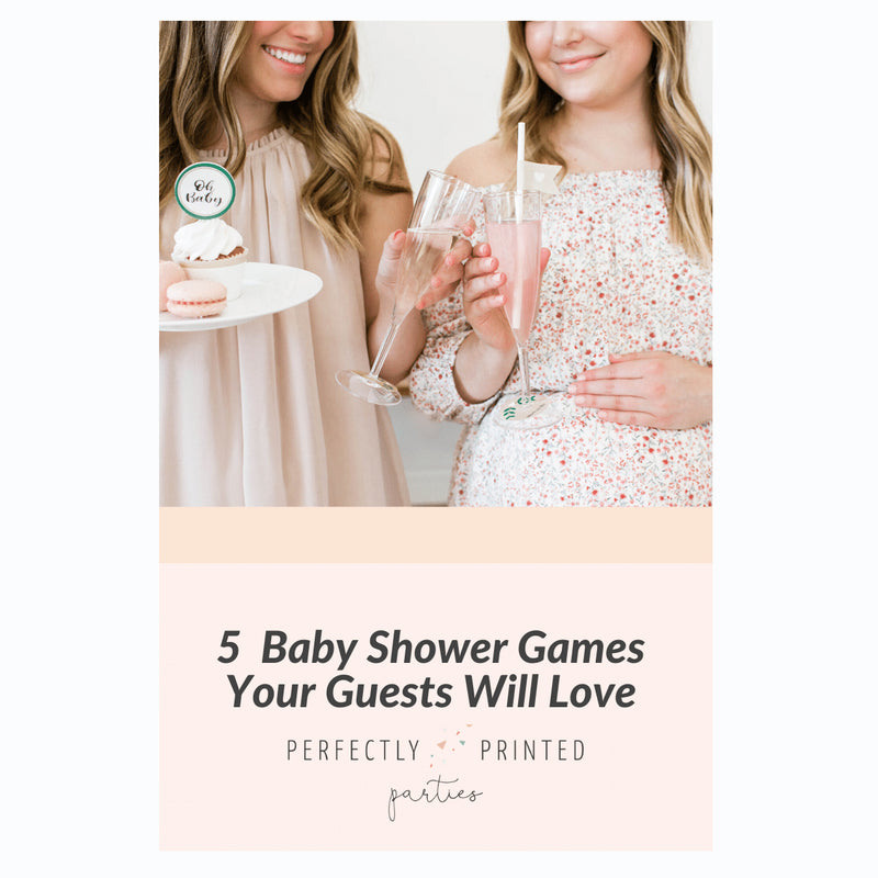 5 Baby Shower Games Your Guests Will Love
