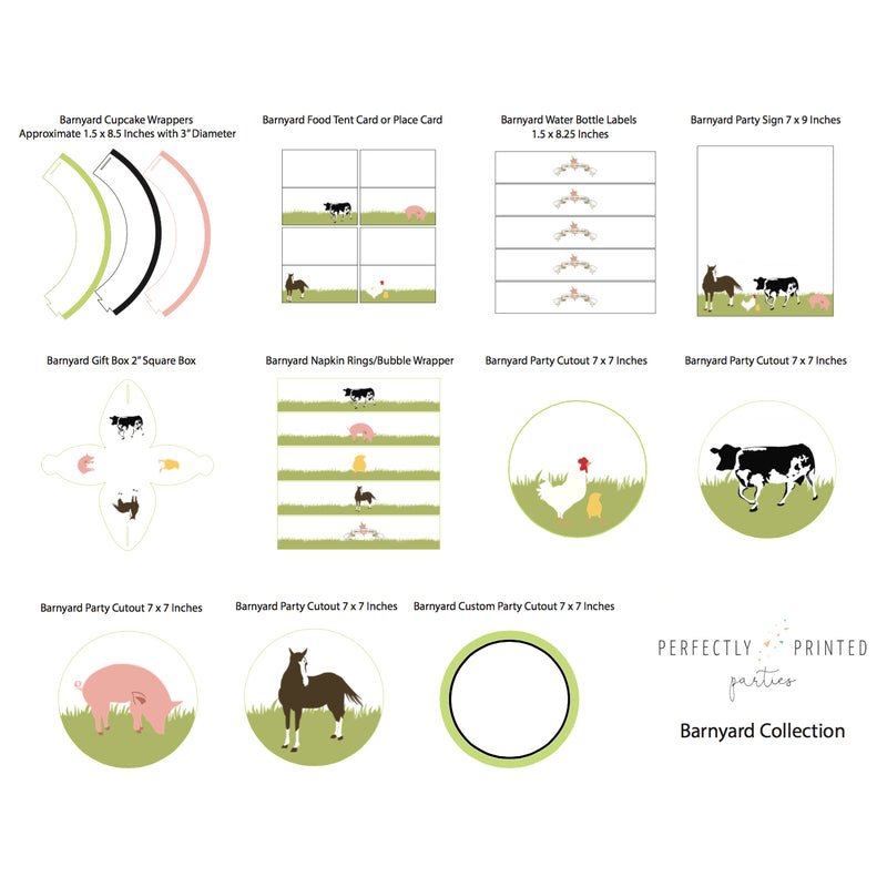 Barnyard Printable Collection (Digital Download)