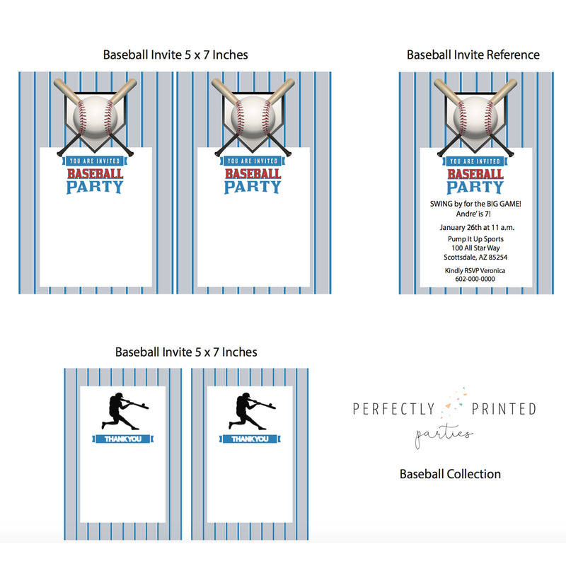 Baseball Printable Collection (Digital Download)