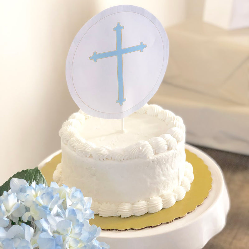 Blue Baptism Party in a Box