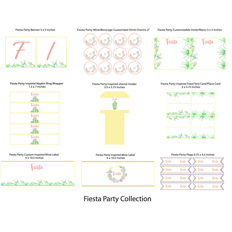 Fiesta Printable Collection (Digital Download)
