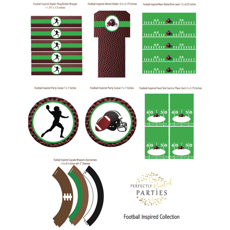Football Printable Collection (Digital Download)