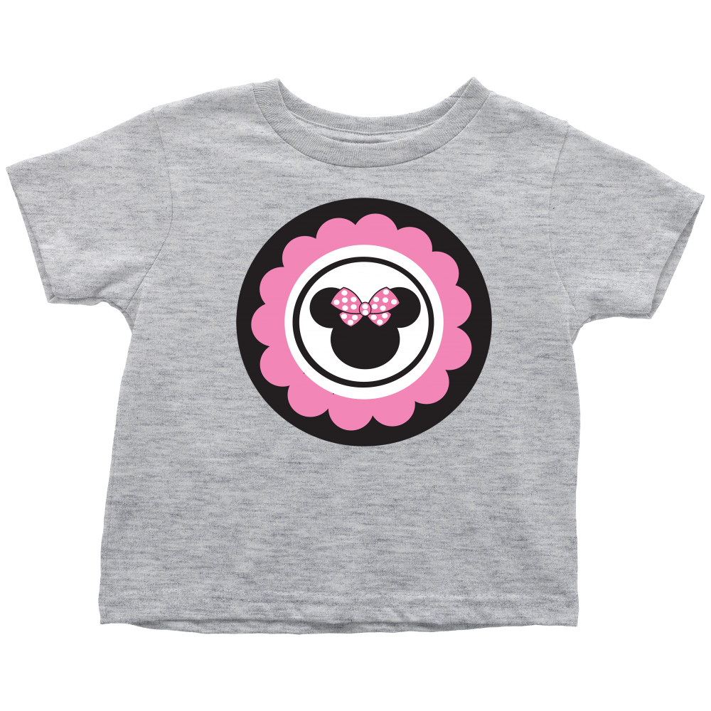 Minnie Mouse T Shirt Design | Minnie Mouse Inspired Toddler T Shirt Perfectly Printed Parties