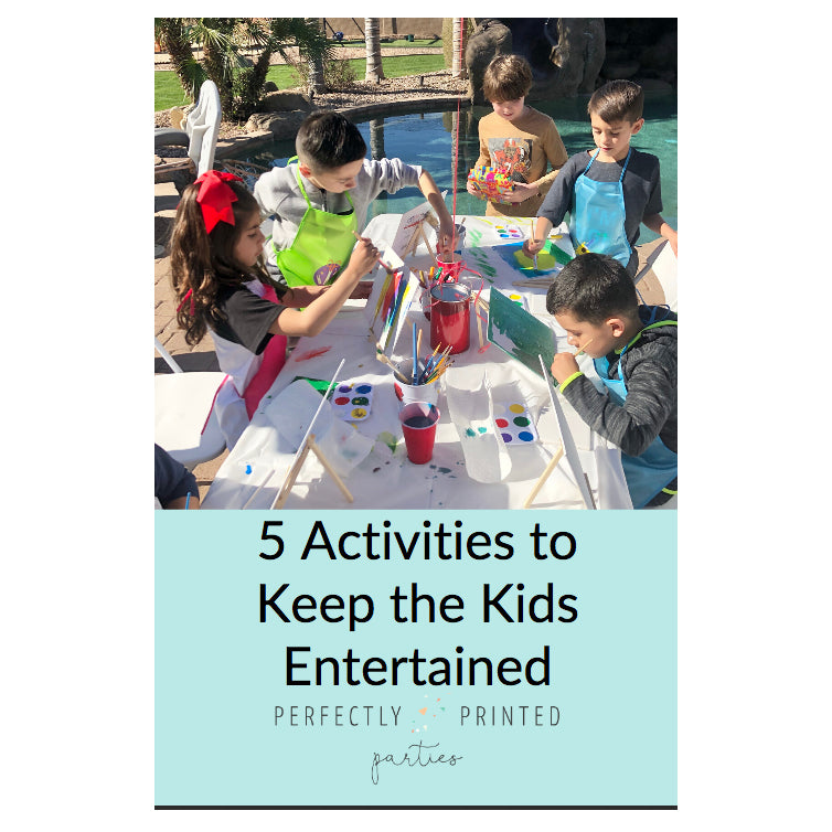 5 Activities To Keep the Kids Entertained