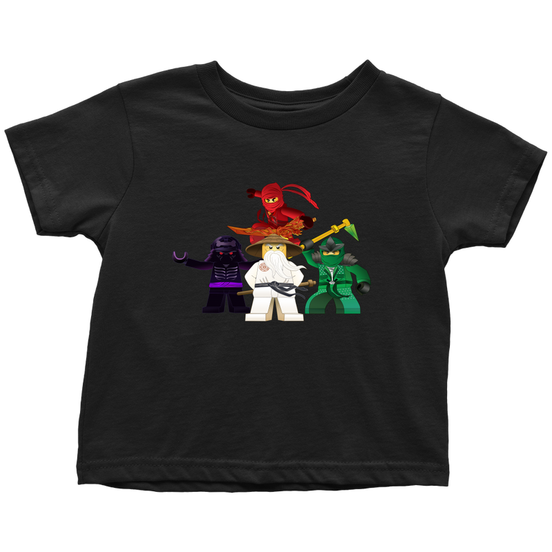 Ninjago Inspired Toddler T-shirt