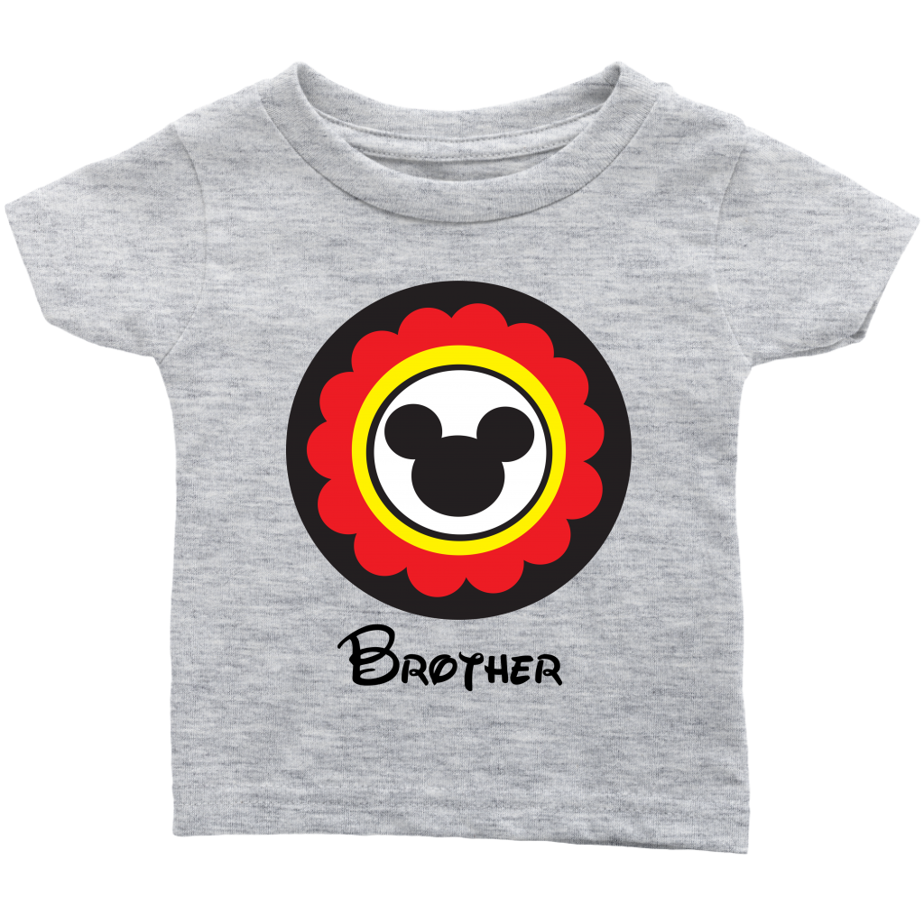 Mickey Mouse Inspired Brother Infant T-Shirt