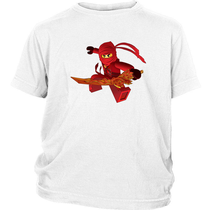 Ninjago Kai Inspired Youth T-shirt