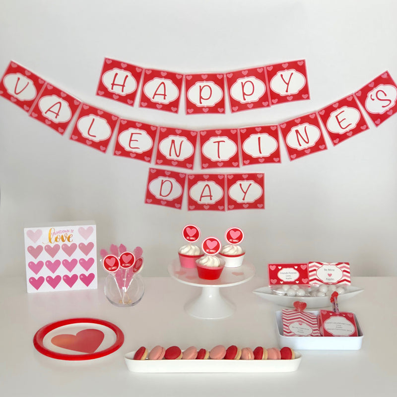Be Mine Valentine's Day Printable Collection (Digital Download)