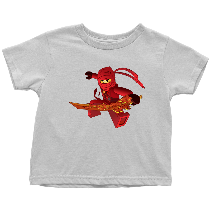 Ninjago Kai Inspired Toddler T-shirt