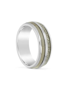 Limitless Mens Brushed Tungsten Band LA1