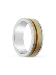 Limitless Mens Brushed Tungsten Band LA2