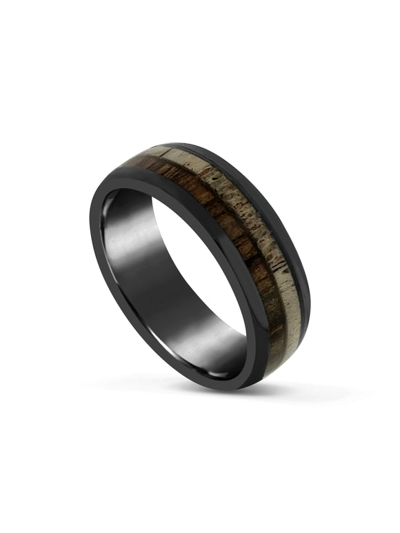 Limitless Mens Brushed Tungsten Band LA3