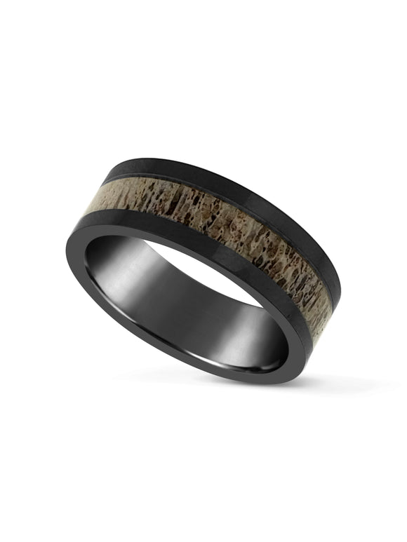 Limitless Mens Brushed Tungsten Band LA4