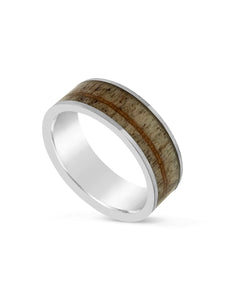 Limitless Mens Brushed Tungsten Band LA5