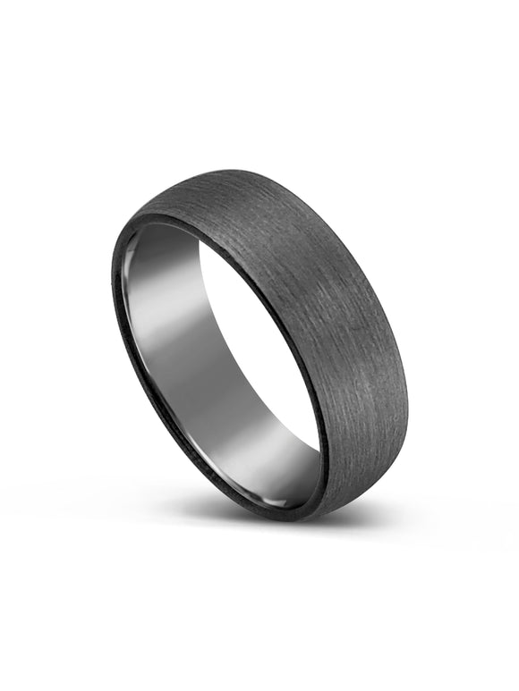Limitless Mens Brushed Tungsten Band LR7
