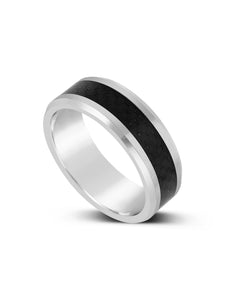 Limitless Mens Carbon Fiber Tungsten Band LR16