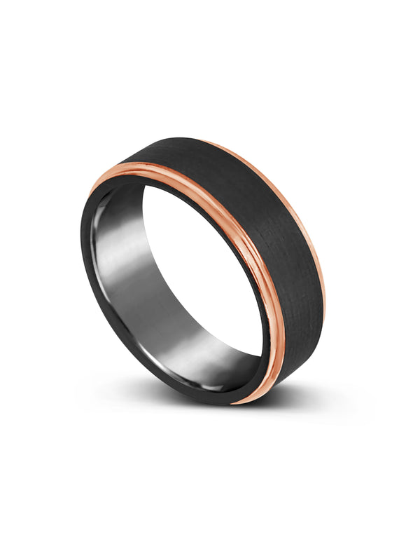 Copy of Limitless Mens Two Toned Tungsten Band LR31