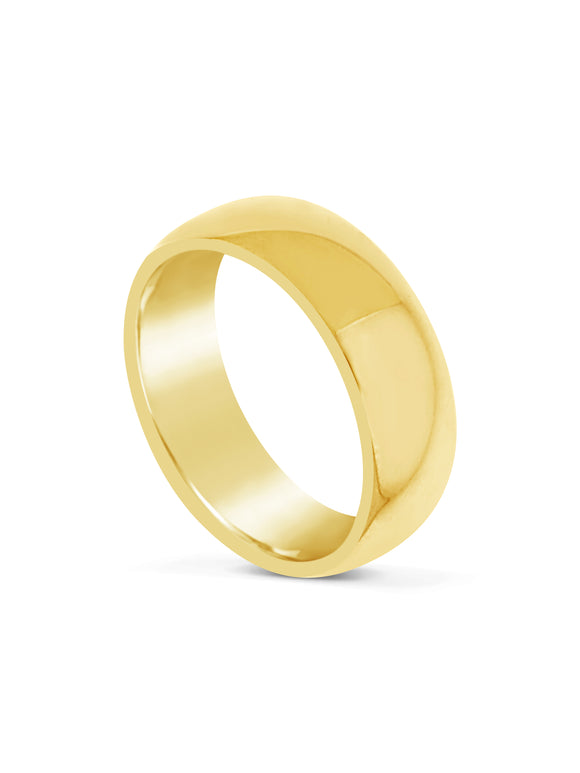 Limitless Mens Gold Tone Tungsten Band LR3