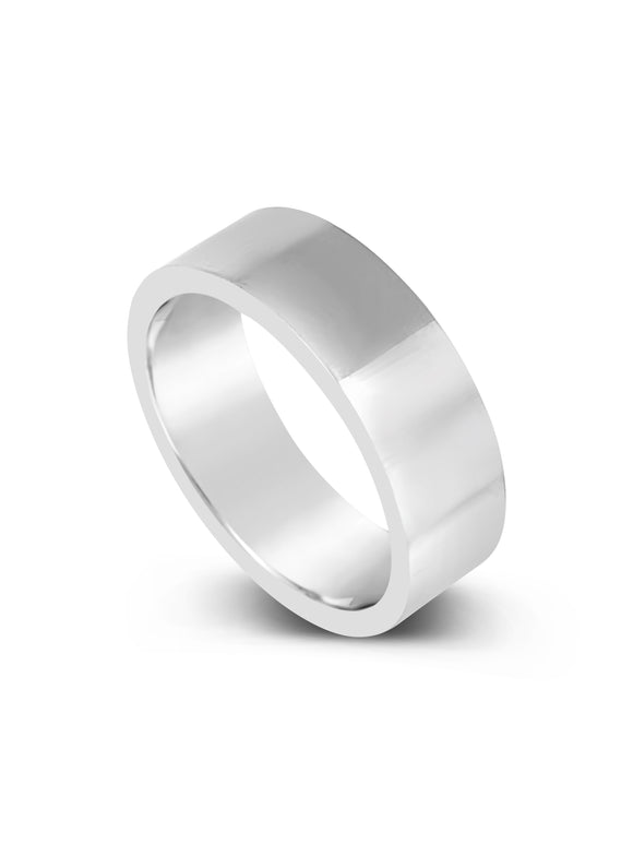 Limitless Mens High Polish Tungsten Band LR9