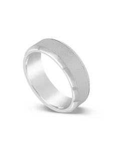 Limitless Mens Brushed Tungsten Band LR4
