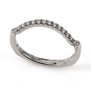 Wedding Band Mounting (0.19 ct. tw.)