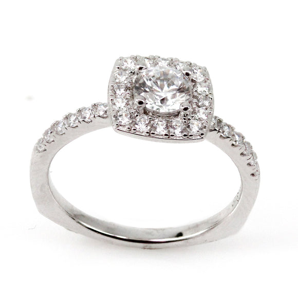 Cushion Halo Engagement Ring Mounting (0.39 ct. tw.)