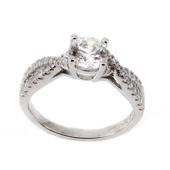 Twist Engagement Ring Mounting (0.31 ct. tw.)