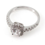 Cushion Halo Engagement Ring Mounting (0.41 ct. tw.)